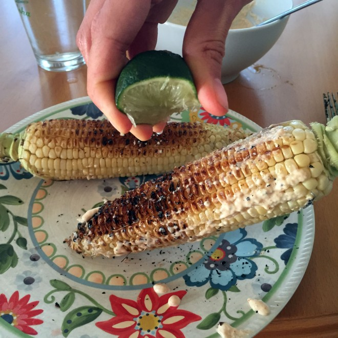 If you read last week's Friday Five...I made the Mexican corn recipe! Coming to the blog this week.