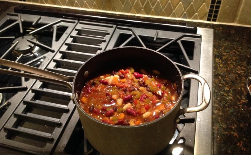 Recipe Share: Spicy VegetarianChili