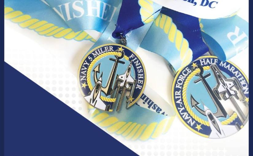Training Recap: Navy Air Force Half Marathon, Week #1