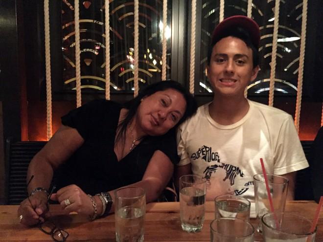Hi, Mom + Benji!